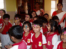 Holi celebrated at the School
